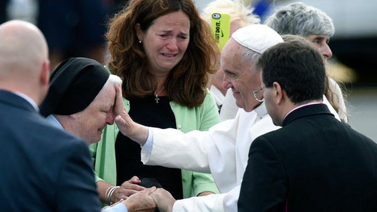 APTOPIX US Pope Francis