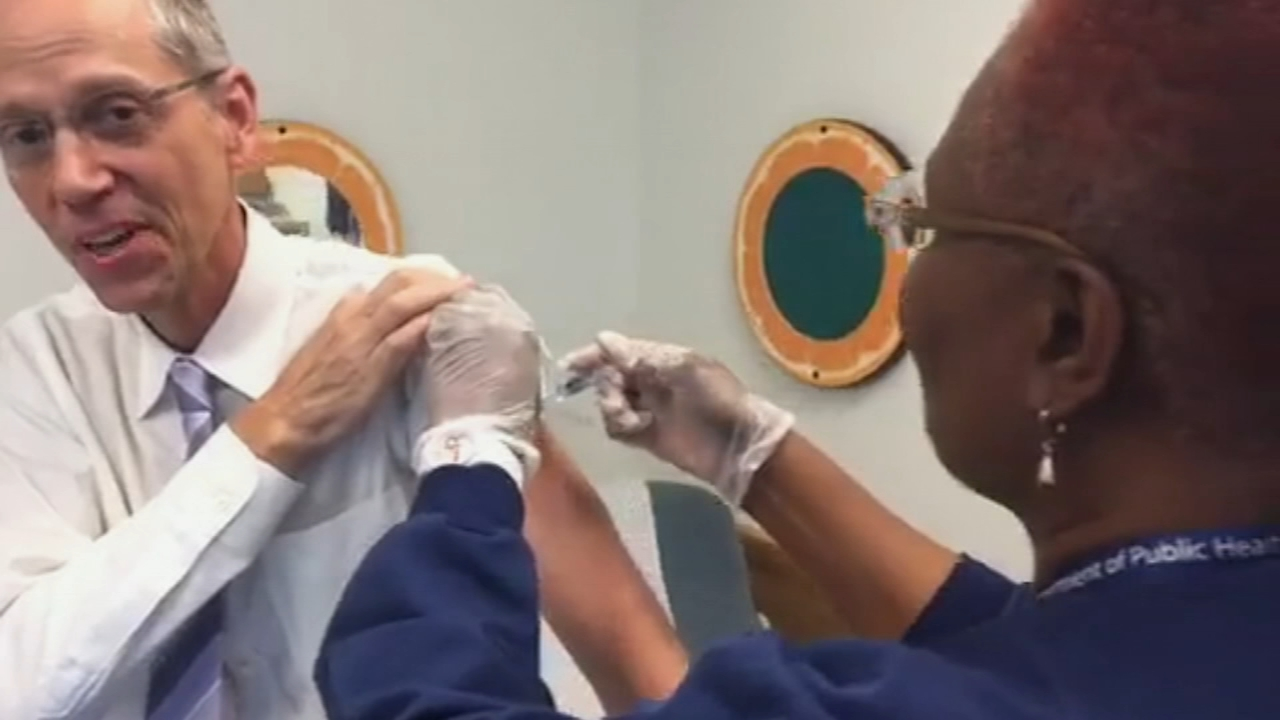 Art of Aging: Officials say now is a good time to get the flu vaccine. Tamala Edwards reports during Action News at 12 p.m. on October 4, 2018.