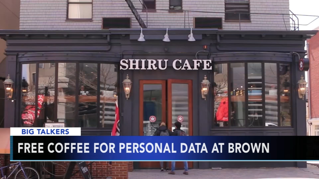 Students receive free coffee in exchange for personal information at campus coffee shop. Alicia Vitarelli reports during Action News at 4 p.m. on October 4, 2018.