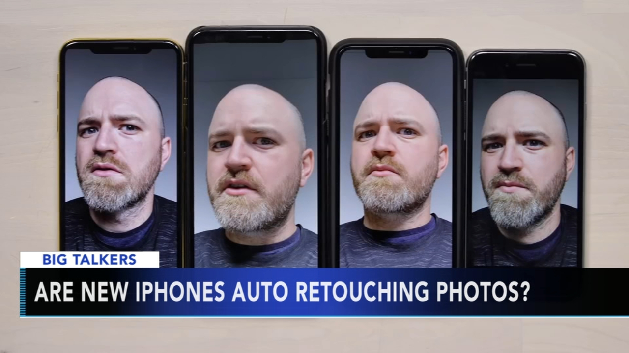 iPhone XS users claims front-facing camera smooths selfies. Alicia Vitarelli reports during Action News at 4 p.m. on October 4, 2018.