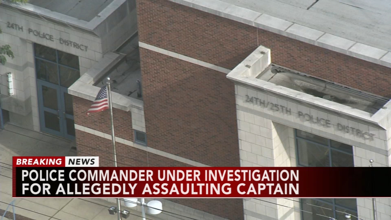 Philadelphia police commander under investigation: As seen on Action News at 4 p.m., October 4, 2018