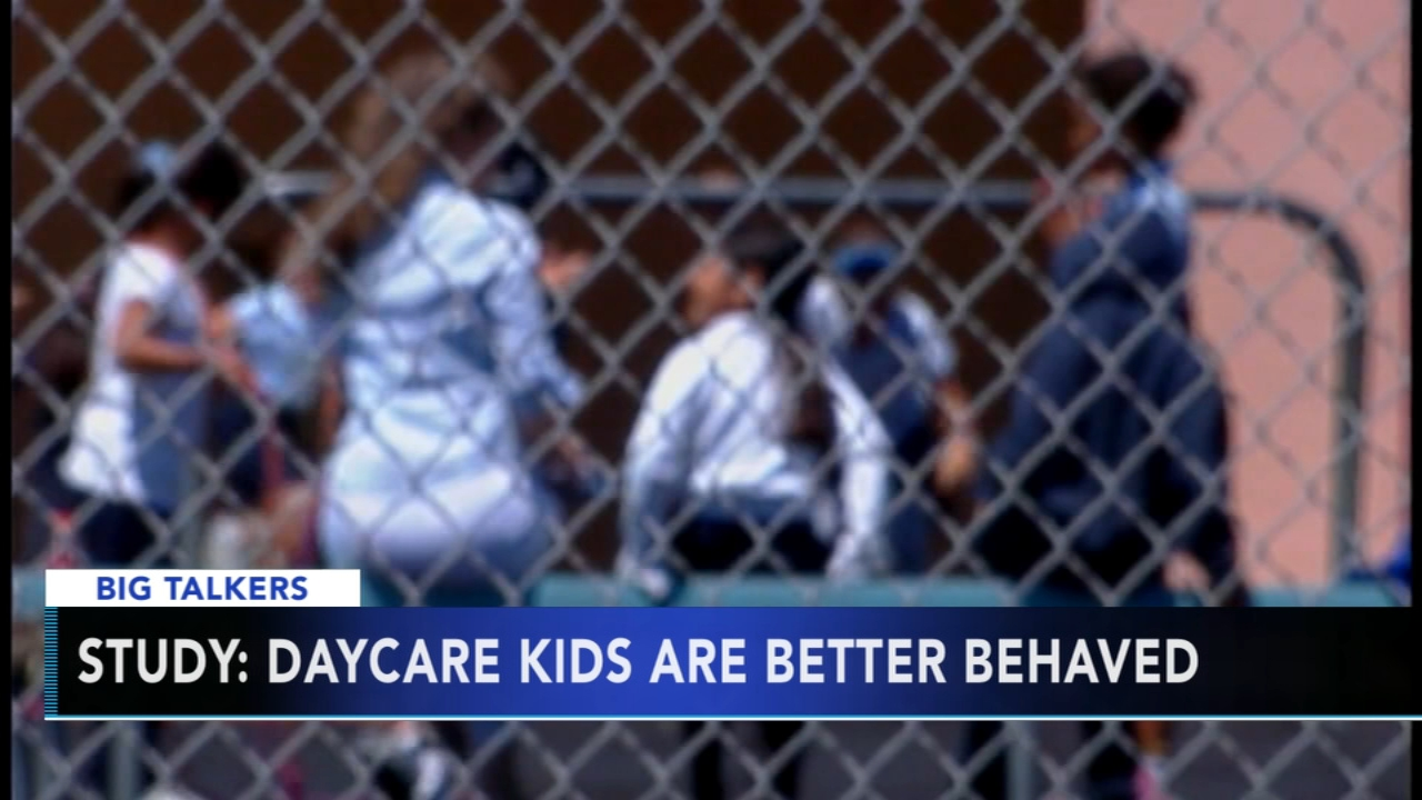 Daycare may help children become more social and well-behaved, study says. Alicia Vitarelli reports during Action News at 4 p.m. on October 5, 2018.