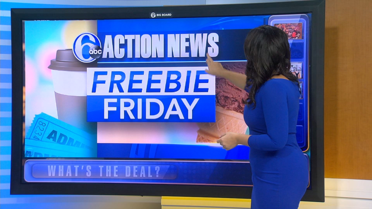 Freebie Friday: Fun for Kids, Veterinary Exams for Pets, Free SEPTA Rides. Alicia Vitarelli reports during Action News at 4:30 p.m. on October 5, 2018.