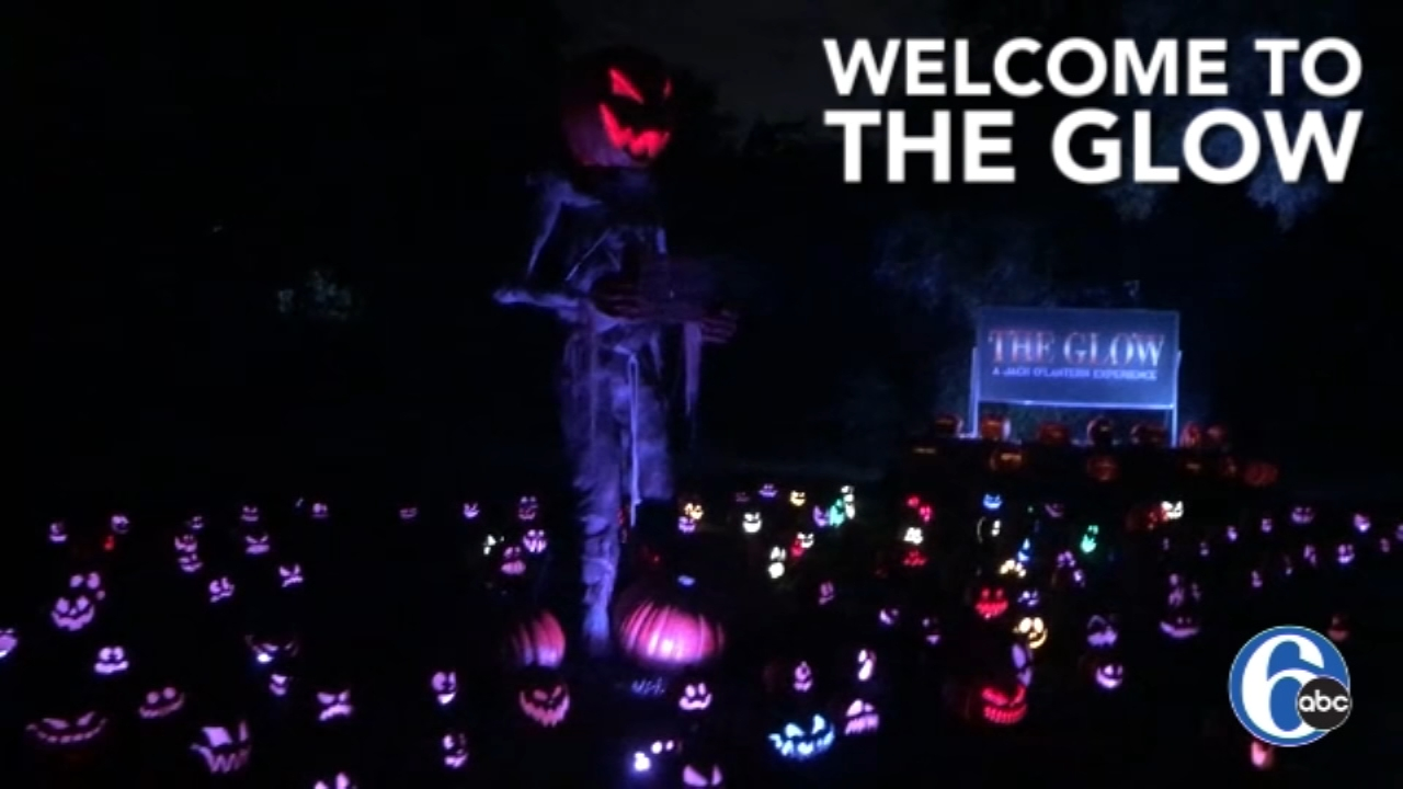 The Glow Jack OLantern Experience illuminates Fairmount Park. Watch the report from 6abc.com on October 5, 2018.