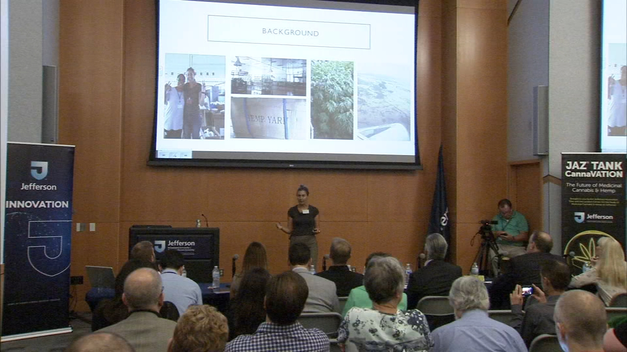 Medical cannabis, industrial hemp entrepreneurs present ideas at JAZ tank. Julia Rae reports during Action News at 5 a.m. on October 6, 2018.