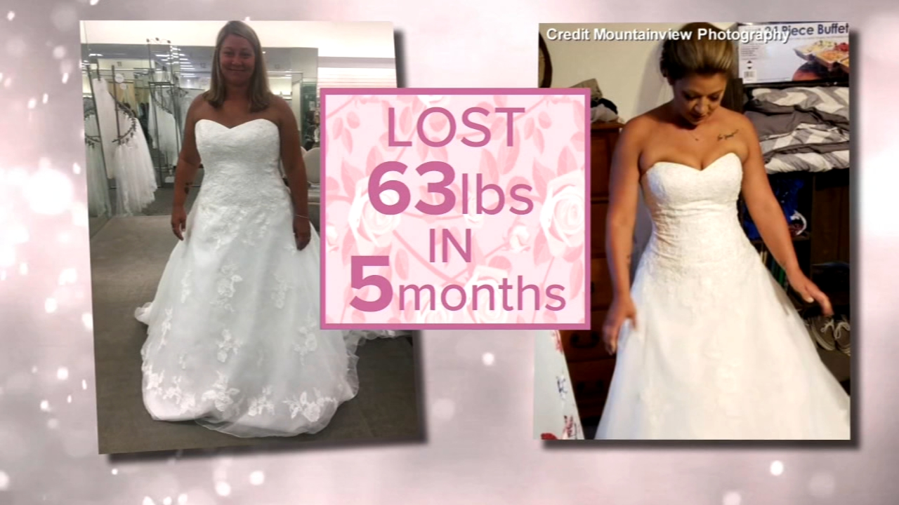Bride Who Lost Over 60 Pounds Before Her Wedding Shares -9949