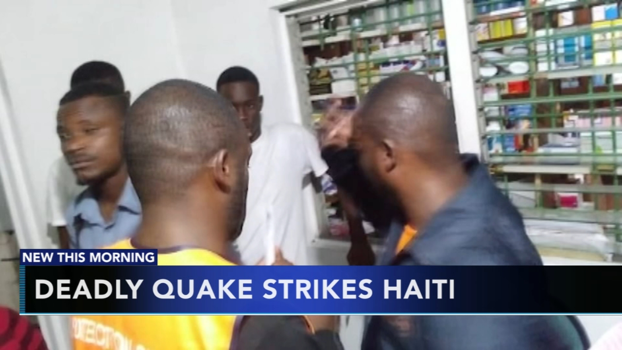 Haiti quake causes injuries, damages homes, hospital, church. Gray Hall reports during Action News at 6 a.m. on October 7, 2018.