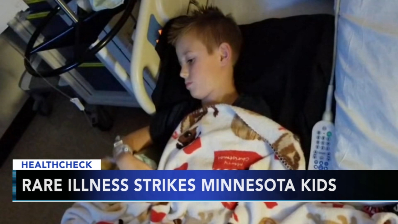 Rare illness impacts several children in Minnesota. Gray Hall reports during Action News at noon on October 7, 2018.