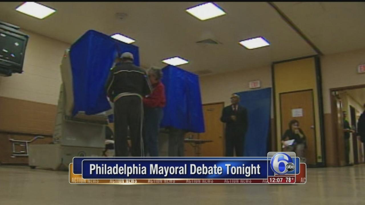 VIDEO: Phila. mayoral debate Tuesday