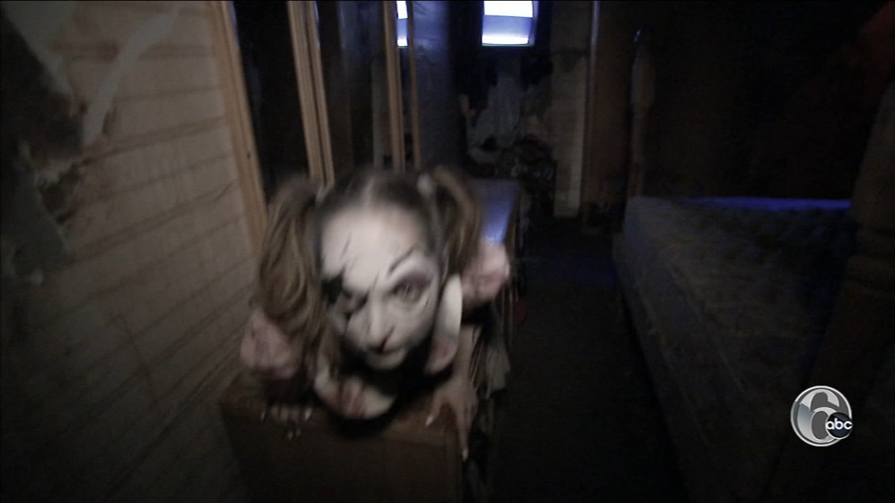 Creamy acres in Mullica Hill New Jersey is dubbed the largest and scariest haunted attraction in New Jersey.