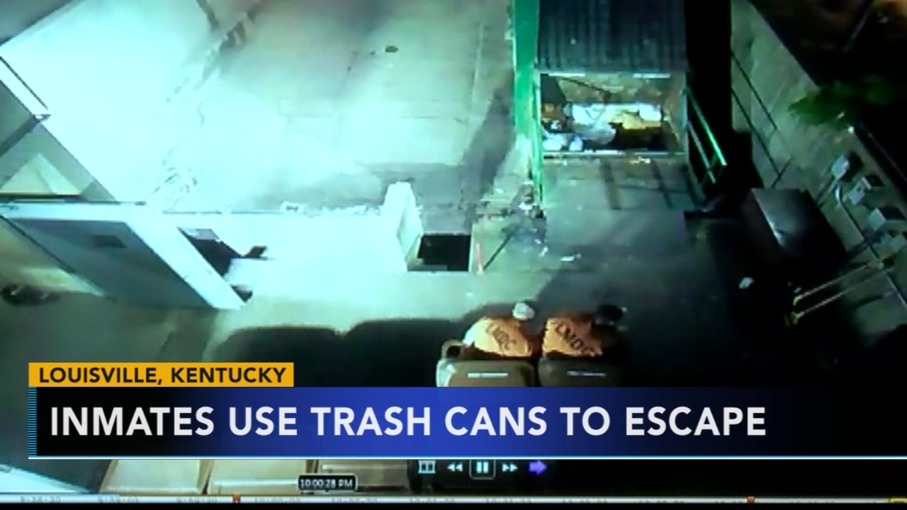 Inmates use trash cans to escape. Tamala Edwards reports during Action News Mornings on October 9, 2018.