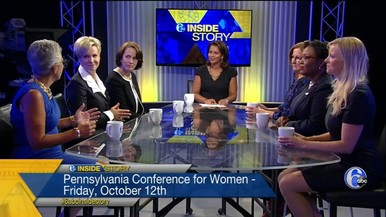 Corporate executive women discuss topics and themes from the upcoming 2018 Pennsylvania Conference for Women.