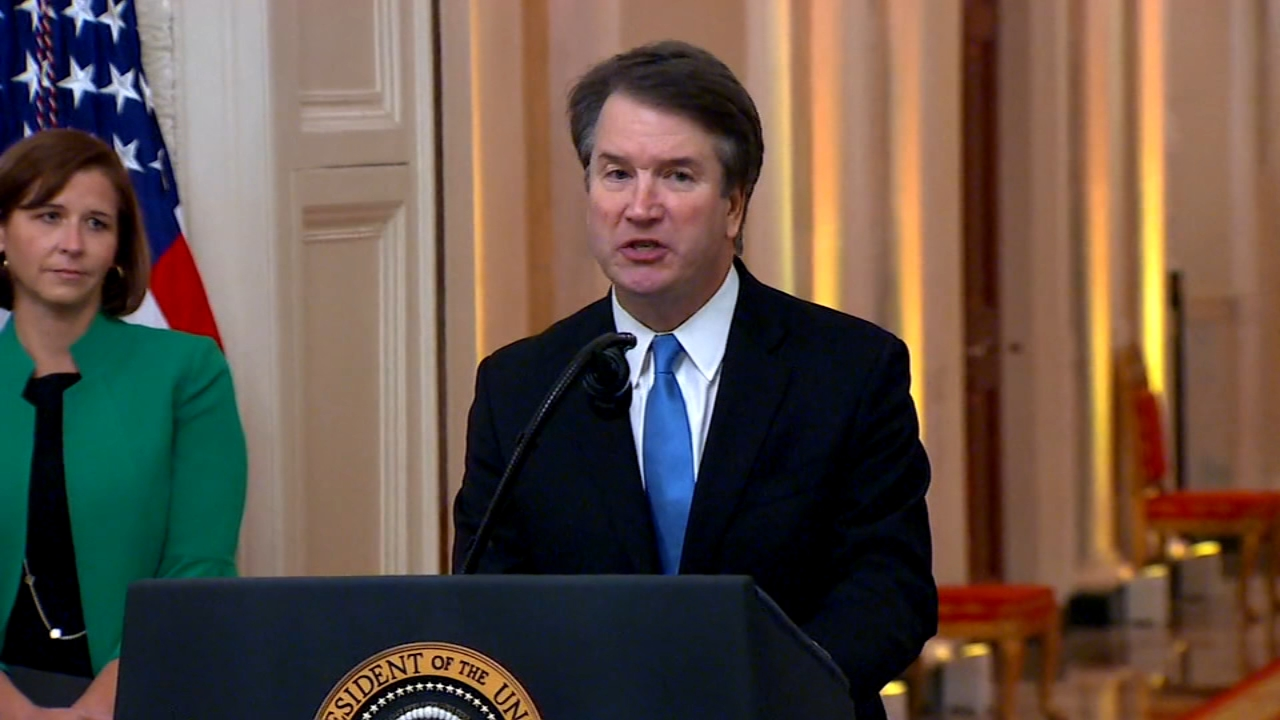 Kavanaugh to hear first arguments as Supreme Court justice. Emily Rau reports during Action News at 12:30 p.m. on October 9, 2018.