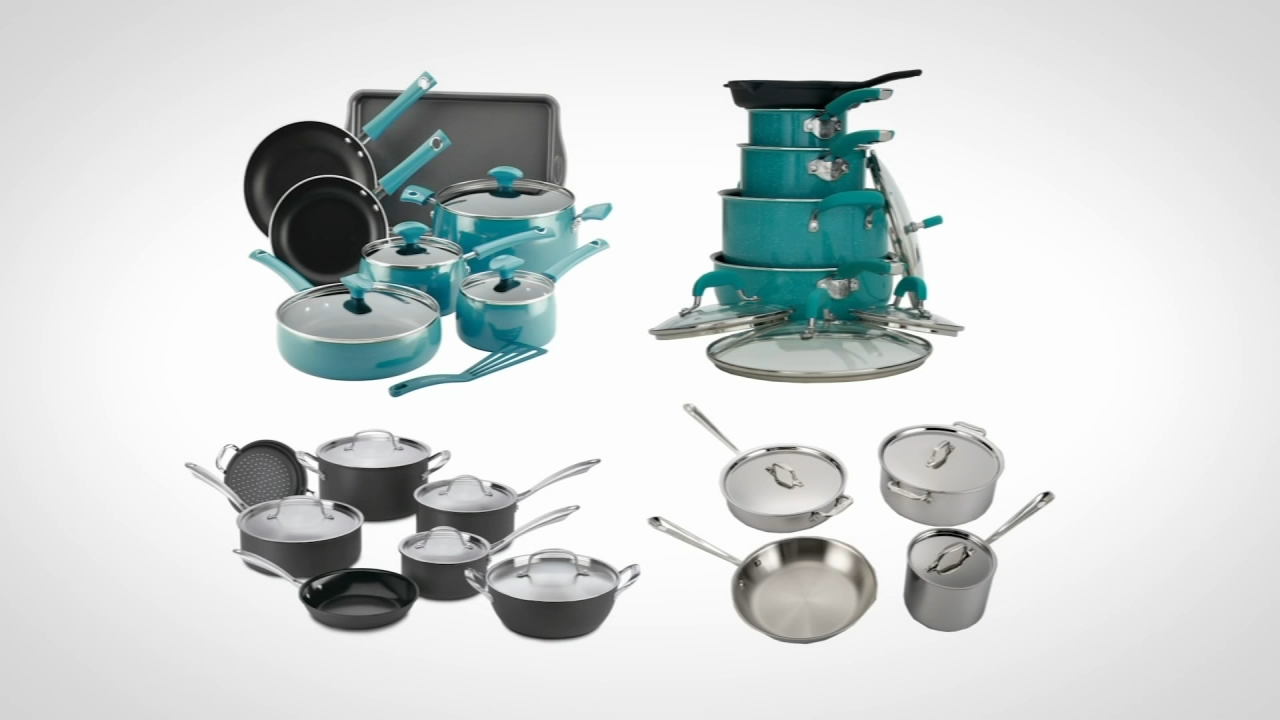 Consumer Reports tests best celebrity-branded cookware: Nydia Han reports during Action News at 4:30pm on October 9, 2018.