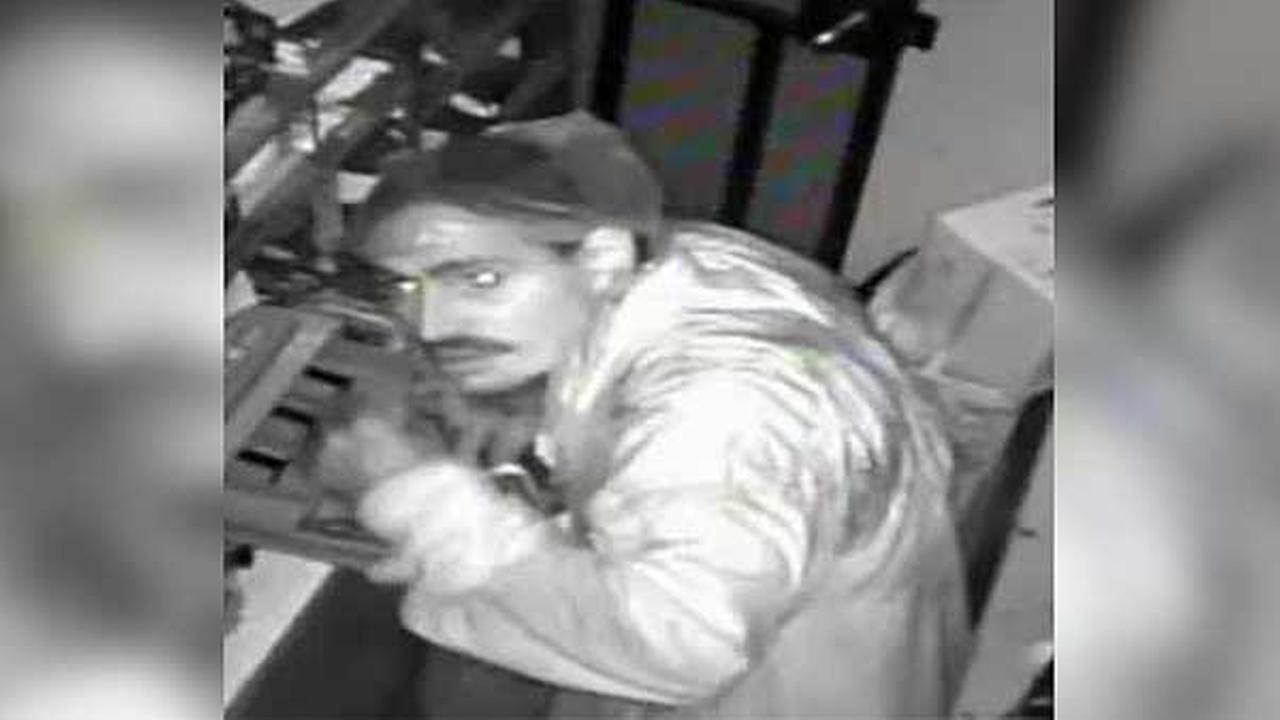 Philadelphia police are searching for a burglar who broke into a grocery store in the citys Kensington section.