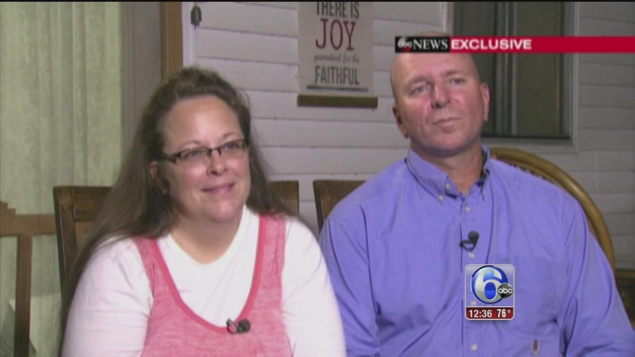 VIDEO: Kim Davis says she had private meeting with Pope Francis