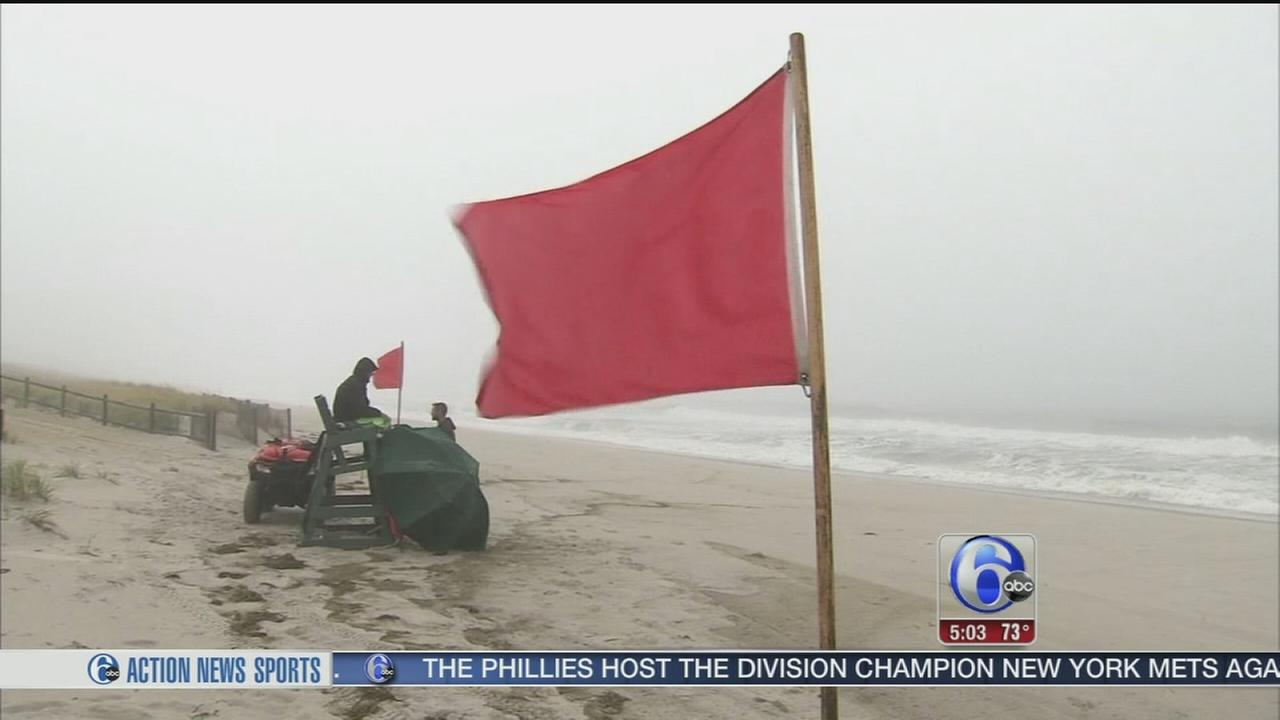 VIDEO: With fresh memories of Sandy, LBI preps for Joaquin
