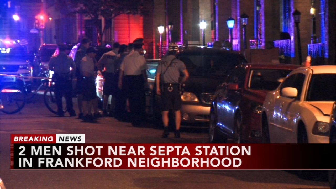 2 shot near SEPTA station in Frankford. Tamala Edwards reports during Action News Mornings on October 10, 2018.