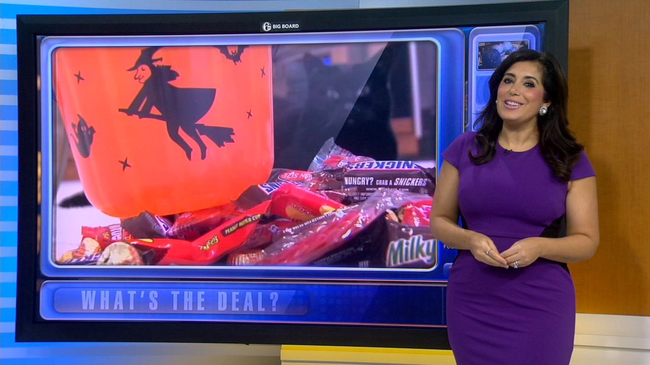 Whats the Deal: Halloween deals and savings - Alicia Vitarelli reports during Action News at 4:30pm on October 10, 2018.