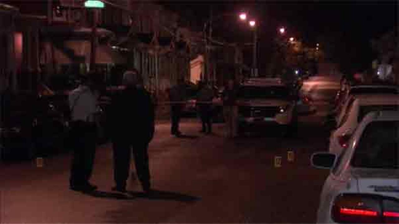 A man is in critical condition Wednesday after being shot multiple times in Germantown.