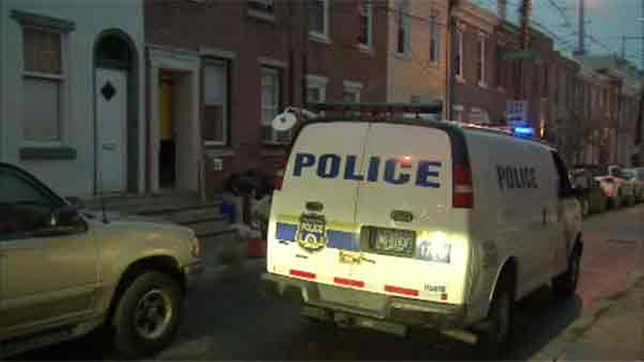 Police are investigating a violent altercation between a woman and her husband in South Philadelphia.
