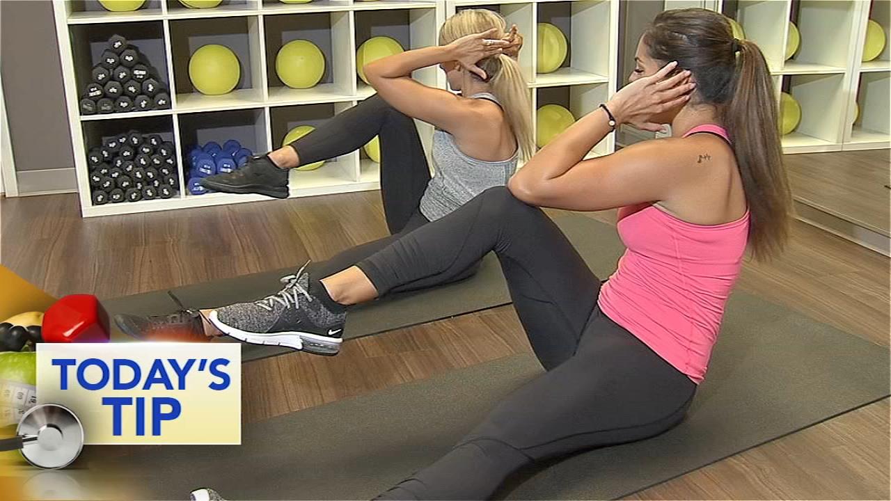 Shoshana has great way to strengthen your core!