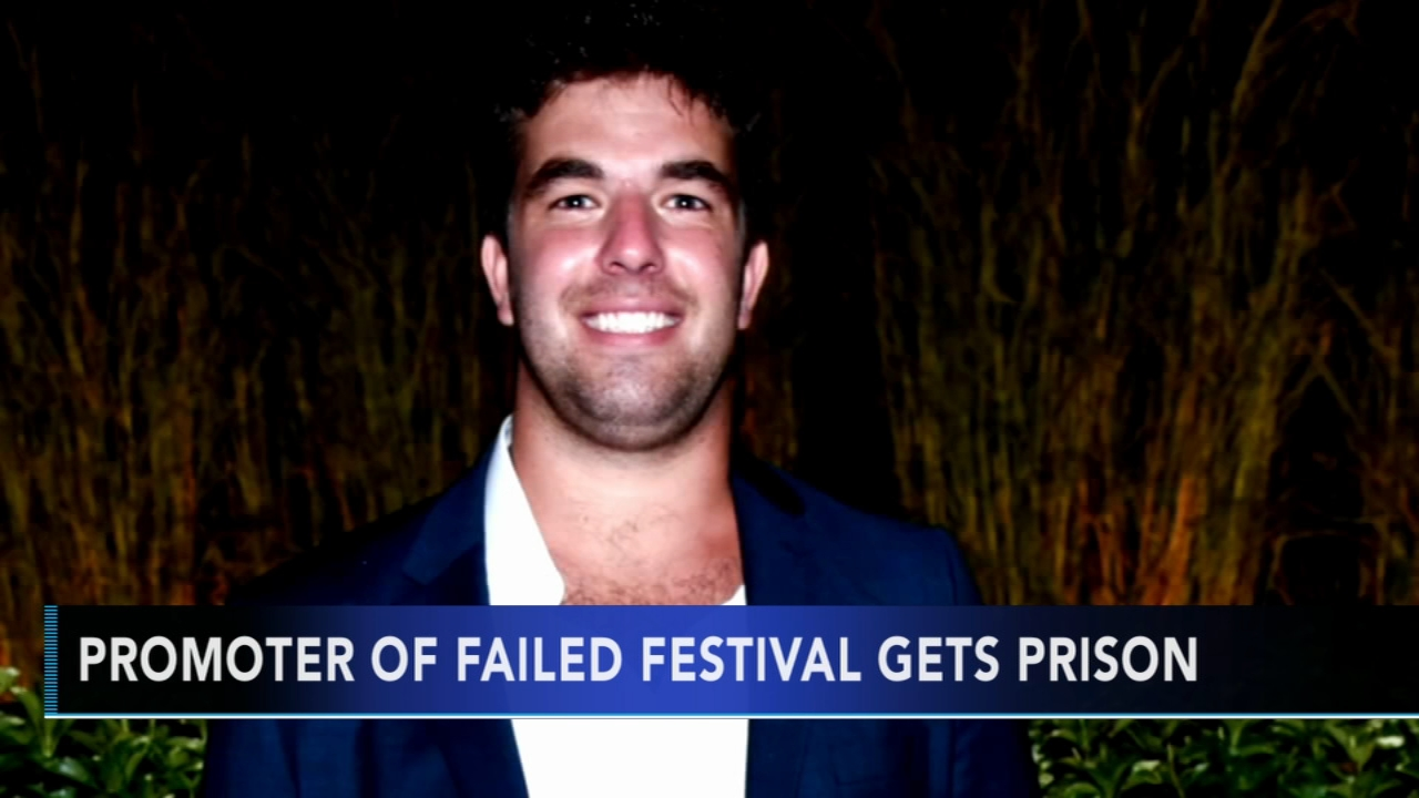 Fyre Festival promoter gets 6 years in prison. Watch the report from Action News at 4:30 p.m. on October 11, 2018.