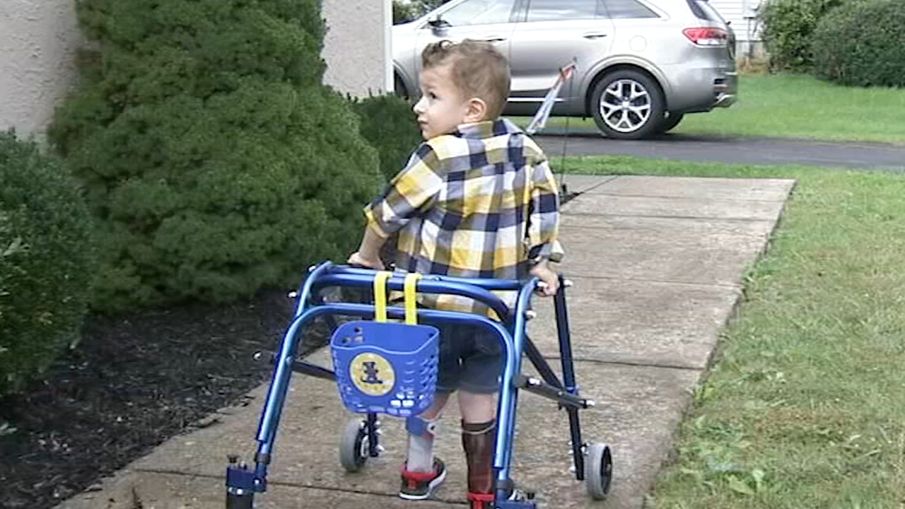 Bucks Co. family shares sons struggle with rare polio-like disease - Ali Gorman reports during Action News at 5pm on October 11, 2018.