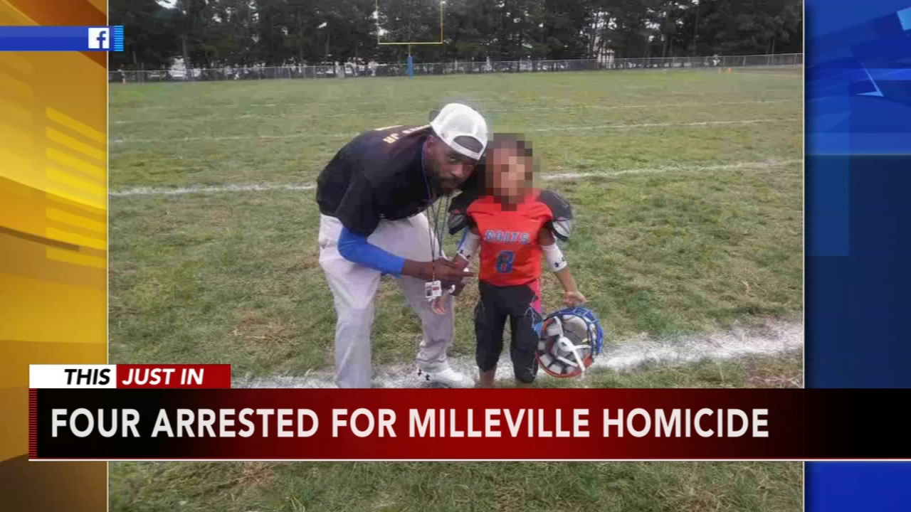 4 arrested in deadly shooting at Millville youth football practice. Watch the report from Action News at 4 p.m. on October 11, 2018.