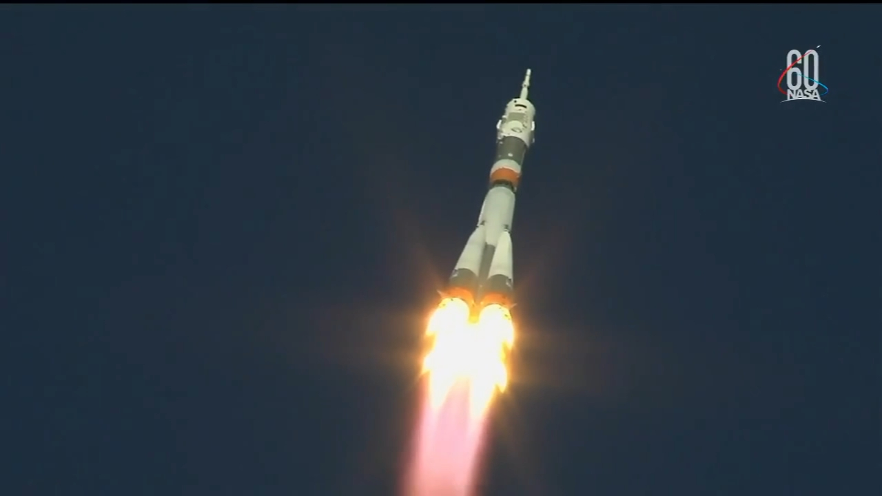 US, Russian astronauts safe after booster rocket failure, emergency landing