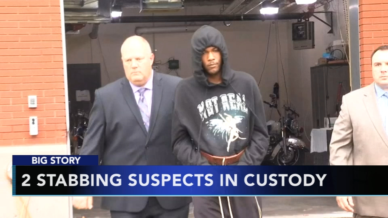 2 suspects in custody in Villanova stabbing: as seen on Action News at 6 p.m., October 11, 2018