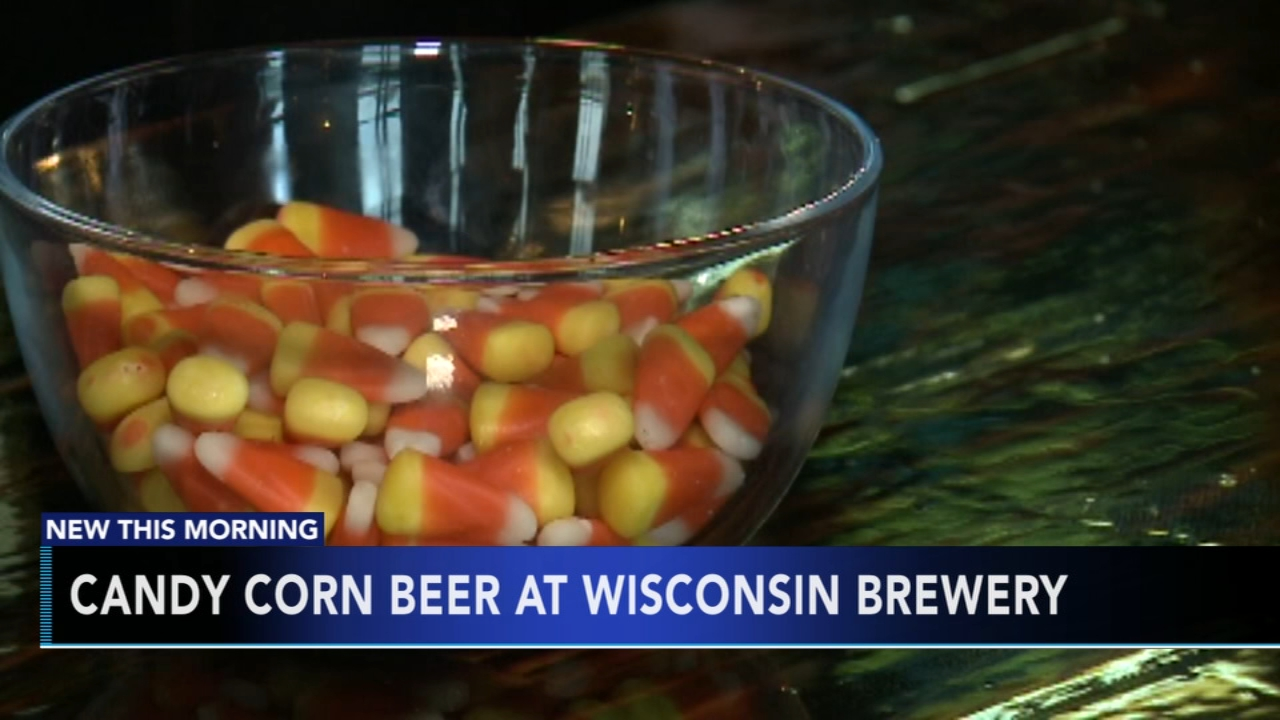 Candy corn beer at Wisconsin brewery. Matt ODonnell reports during Action News Mornings on October 12, 2018.
