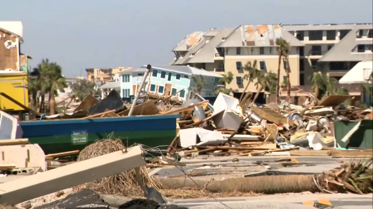 Florida: Grim search through ruined landscape after Michael. Elizabeth Hur reports during Action News at 5:30 p.m. on October 12, 2018.
