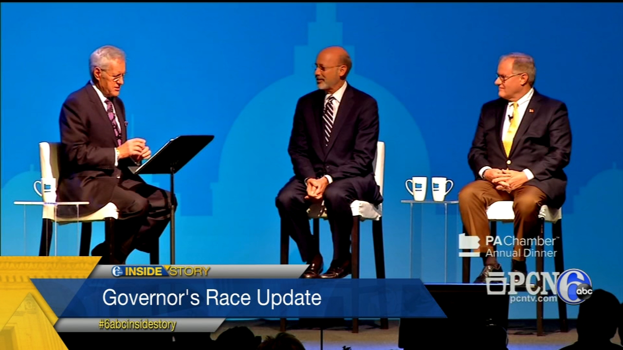 The panel on the latest in the Pa. Gubernatorial race, N.J. midterm elections and President Trumps impact.