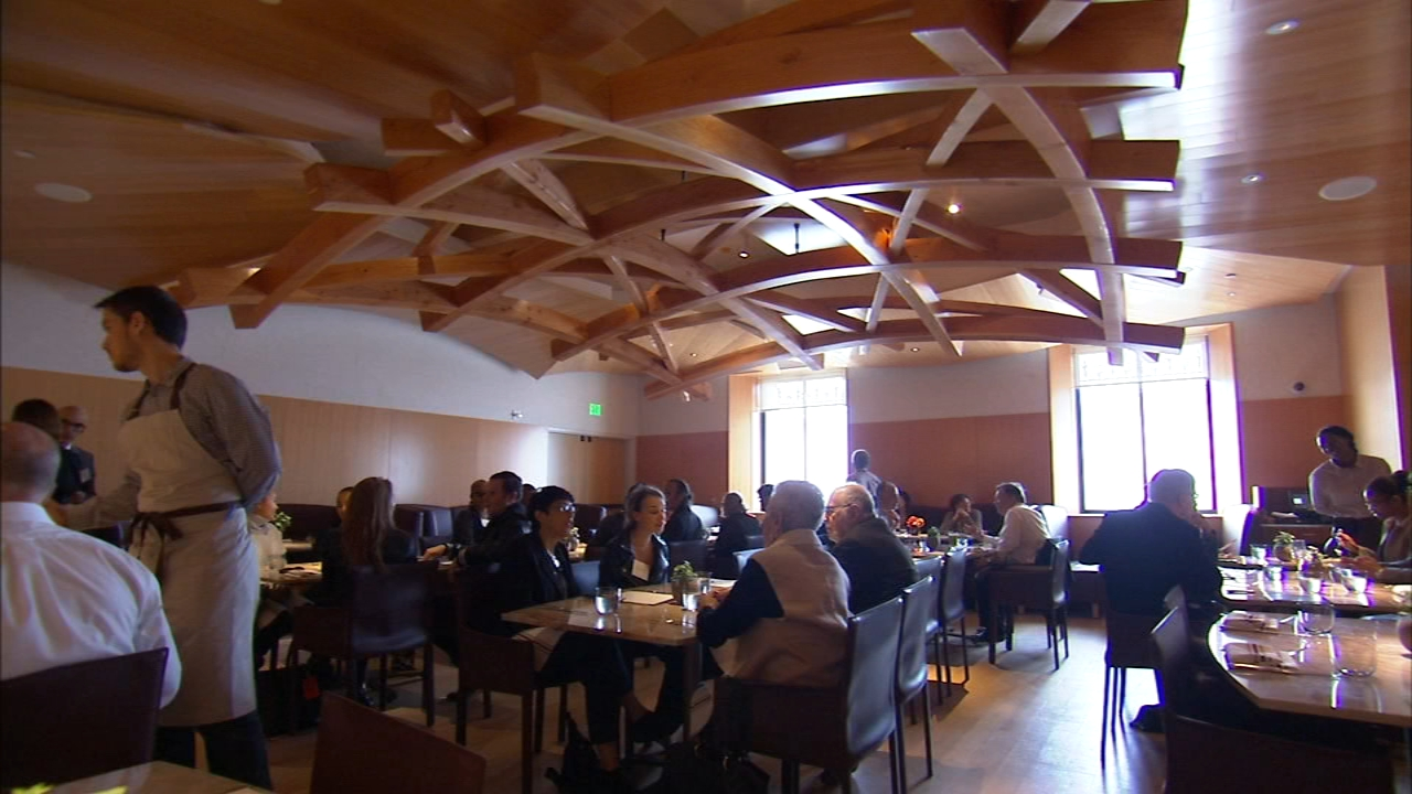 Fine-dining restaurant was designed by world-renown architect Frank Gehry as reported during Action News at 4 on October 12, 2018..
