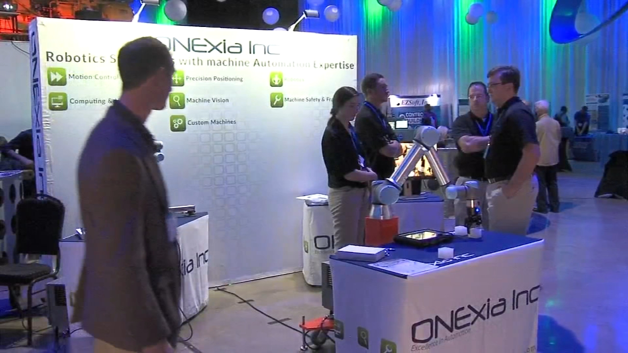 The manufacturing industry spent the day with entrepreneurs and local students as reported during Action News at 4, on October 12, 2018..