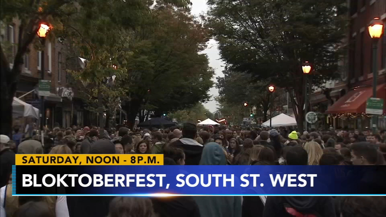 This weekend, Bloktoberfest takes over South Street and more fun for the entire family.