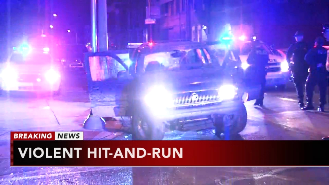 Pedestrian critically injured in hit and run in Kensington. Gray Hall reports during Action News at 6 a.m. on October 13, 2018.