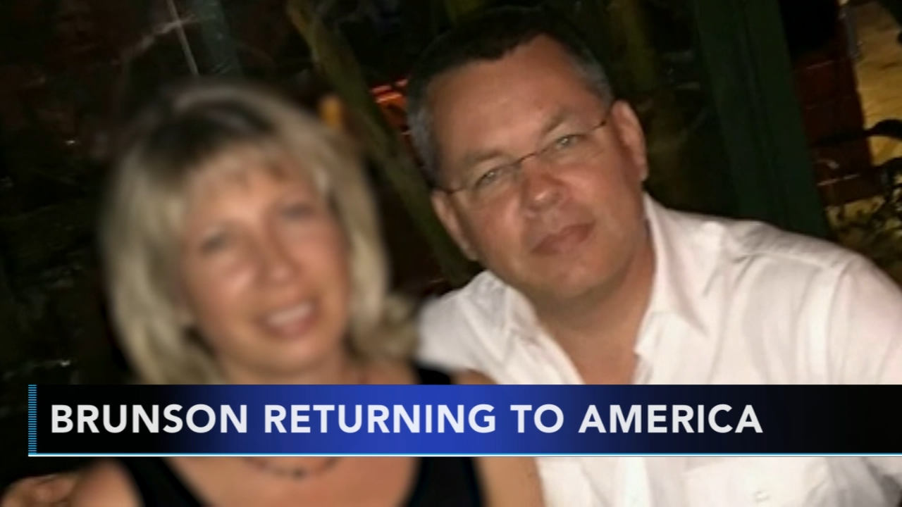 Trump expected to meet American pastor released by Turkey. Gray Hall reports during Action News at 7 a.m. on October 13, 2018.