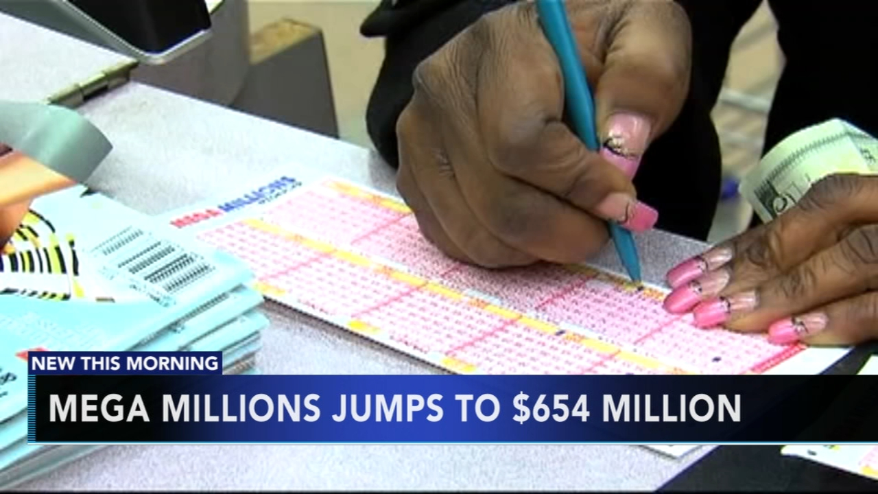 No winning Mega Millions ticket, jackpot now $654 million. Gray Hall reports during Action News at 5 a.m. on October 13, 2018.