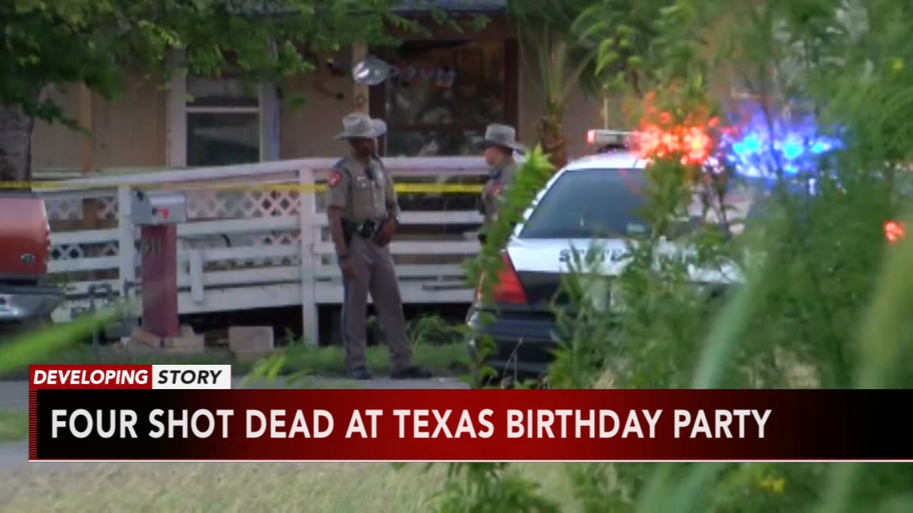 Shooting at birthday party for 1-year-old leaves 4 men dead. Nydia Han reports during Action News at 6 a.m. on October 14, 2018.