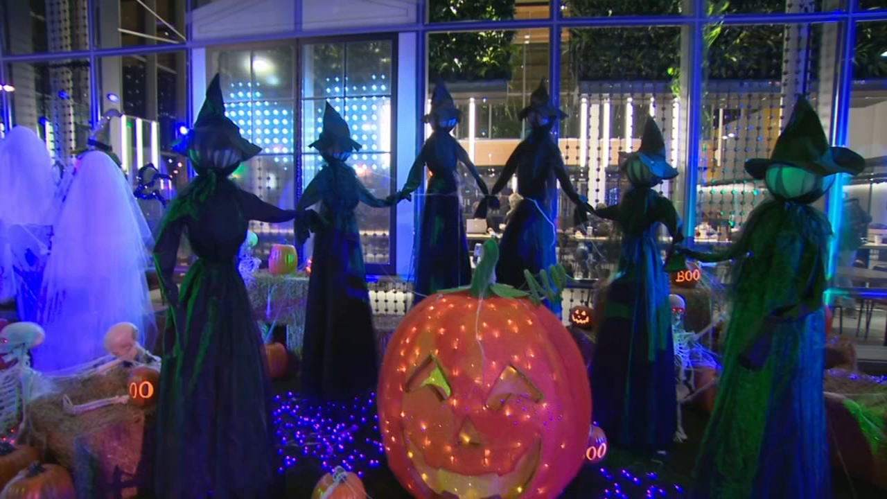 Chicago McDonalds shows off spooktacular Halloween display. Gray Hall reports during Action News at 10 a.m. on October 14, 2018.