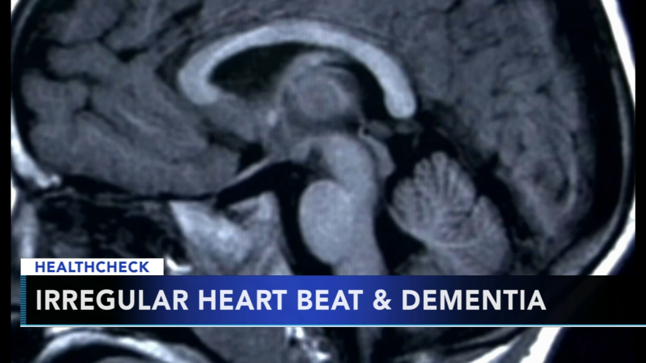 Irregular heartbeat may increase the risk of dementia. Nydia Han reports during Action News at 9 a.m. on October 14, 2018.