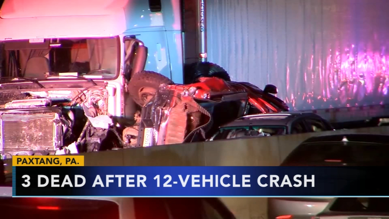Truck driver faces charges after 12-vehicle crash kills 3. Gray Hall reports during Action News at 9 a.m. on October 14, 2018.