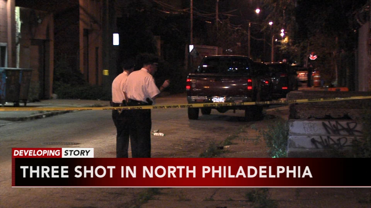 3 men wounded after gunfire breaks out at party