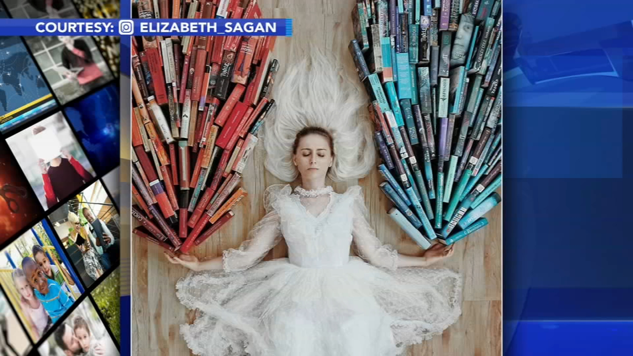 Woman creates incredible photos using book collection. Watch the report from Action News at 4:30 p.m. on October 15, 2018.