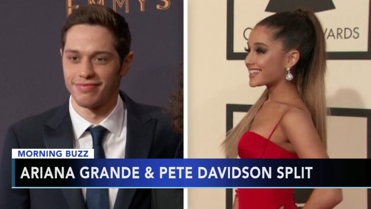 Ariana Grande, Pete Davidson end engagement. Matt ODonnell reports during Action News Mornings on October 15, 2018.