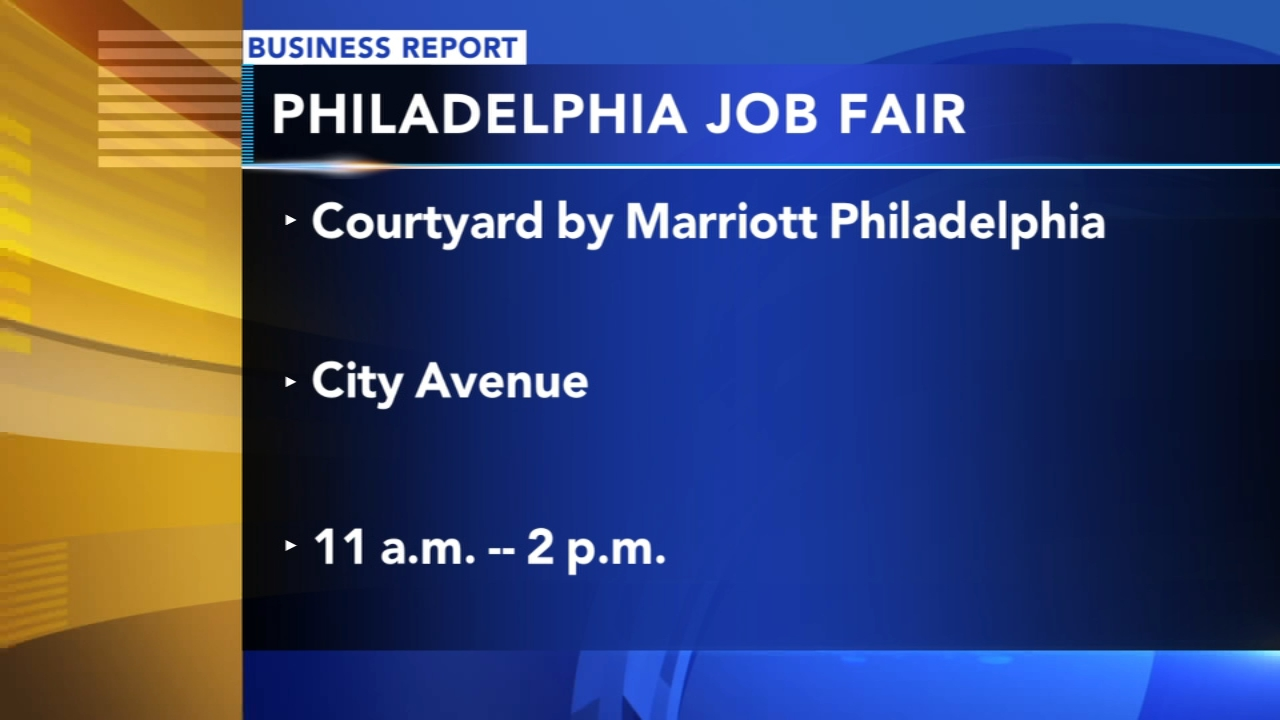Philadelphia job fair on Monday. Tamala Edwards reports during Action News Mornings on October 15, 2018.