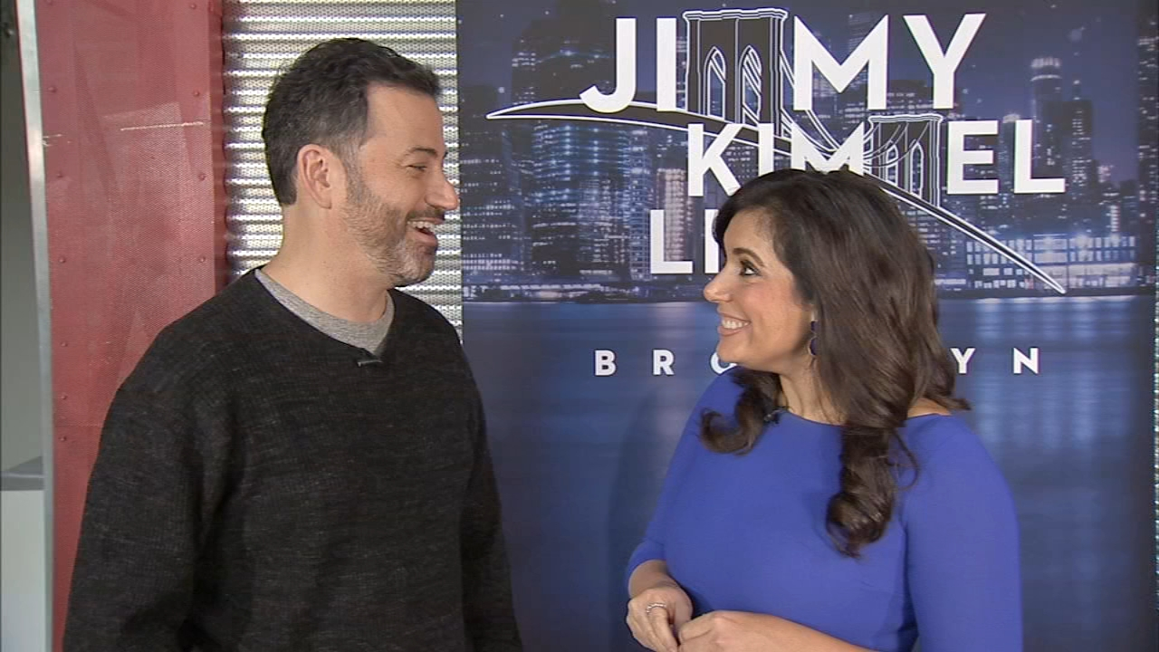 Jimmy Kimmel heads home to Brooklyn for week of live shows; Alicia Vitarelli reports during Action News at 4pm on October 15, 2018.