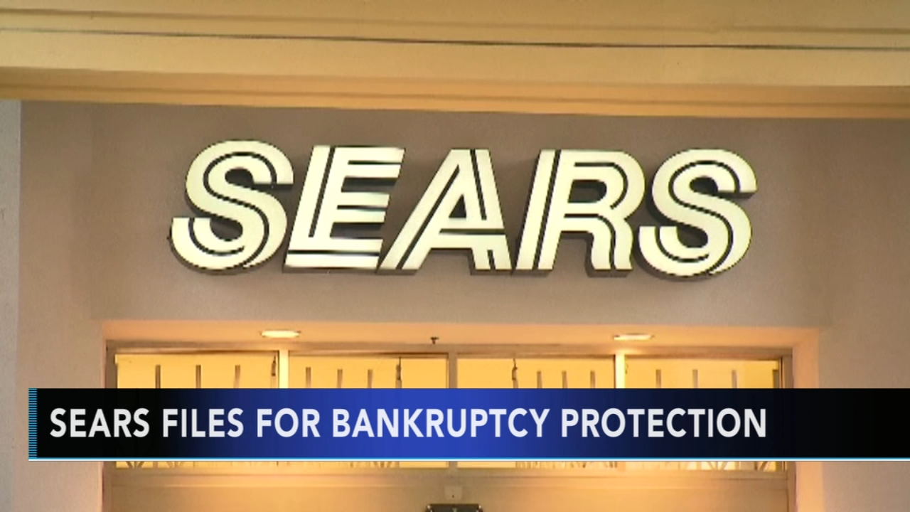 Sears files for bankruptcy protection. Watch this report from Action News at 4pm on October 15, 2018.